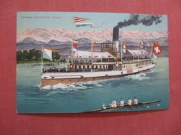Zurich Steamer   Ref  3872 - Paquebots