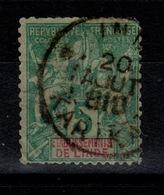 Inde  - KARIKAL Sur YV 4 , Petits Défauts , Rare - Used Stamps