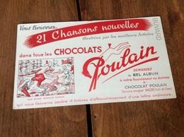 Buvard Chocolat Poulain - Chocolat