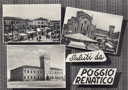 Emilia Romagna - Ferrara  - Poggio Renatico  - Saluti Da ...  - 3 Vedute  - F. Grande - Anni 50 - Molto Bella - Italia