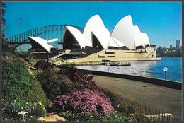 Australia/Australie: Intero, Stationery, Entier, Teatro Dell'Opera, Opera House, Ponte, Bridge, Harbour - Teatro