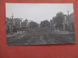 RPPC  TO ID Street View  Back Side Prior Owner Marked Michigan Town  Ref  3873 - Postcards