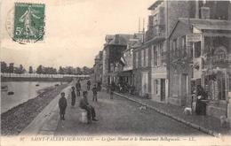 ¤¤   -   SAINT-VELERY-sur-SOMME   -   Le Quai Blavet Et Le Restarant Bellegueule   -   ¤¤ - Saint Valery Sur Somme