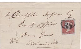 Env Datée 1846 + N° 2 Sans Texte - Postmark Collection
