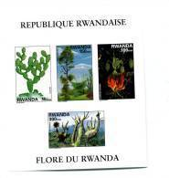 Cactus-.Rwanda-1998-COB    B109***MNH- Non Dentele - Cactusses