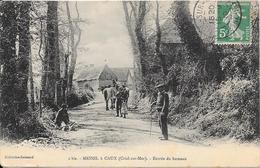76 MESNIL A CAUX - (CRIEL SUR MER) Entrée Du Hameau - Animée - Autres Communes