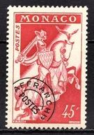 MONACO 1954/59 - N° 17  -  NEUF** - Precancels