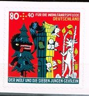 Bund 2020,Michel# 3526 ** Für Die Wohlfahrt: Die Sieben Geißlein, Selbstklebend Aus MH - BRD
