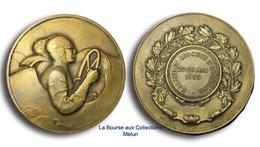 FRANCE - AUTOMOBILE - Médaille RALLYE ET CIRCUIT D'ORLEANS - 1933 Par Thenot - Professionnels / De Société