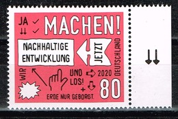 Bund 2020,Michel# 3527 ** Nachhaltige Entwicklung - BRD