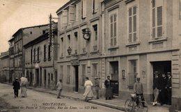 11508      MONTAUBAN    HOTEL DES POSTES ET TELEGRAPHES - Montauban