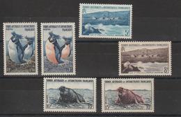 TAAF 1956 Faune 2-7 6 Val ** MNH - Ungebraucht