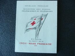 Carnet Croix Rouge 1955 - Rode Kruis