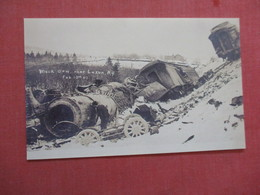 RPPC Unknown If Real Or Repo--- Wreck Near Luzon NY Feb 13 07- New York Ref  3874 - Sonstige
