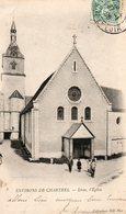 Environs  De  Chartres  Lèves,  L' église. - France