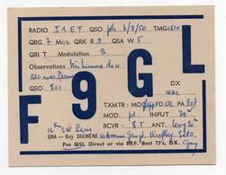 Francia France Erinnofilia - CB RADIO - Radioamatore - Radioamateur - QSL - Short Wave - Carte QSL