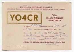 REPUBLICA POPULARA ROMANA - ROMANIA - BUCAREST BUCHAREST - CB RADIO - Radioamatore - Radioamateur - QSL - Short Wave - Carte QSL