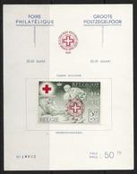 België/Belgique 1941 - Het Rode Kruis/La Croix-Rouge - 582B Xx Op Genummerde Kaart/sur Carte Nummerotée - Unused Stamps