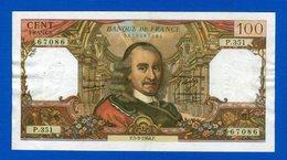 100 Fr  Du  5/9/1968 - 1962-1997 ''Francs''
