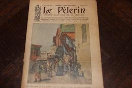 LE PELERIN 24 Janvier 1926: Vue D'Alep, Syrie, Rome, Vatican, Inondations De L'Oise à Creil, Dangers... - Livres, BD, Revues