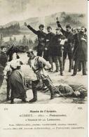 DEROULEDE-FAIDHERBE-CHANZY-KELLER-CLEMENCEAU-FREYCINET-GAMBETTA-PROTESTATION ALSACE-LORRAINE-illustrateur JOSEPH AUBERT - Evènements