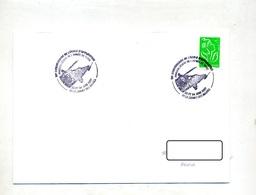 Lettre Cachet Le Cannet Ecole Application Armée Theme Helicoptere - Storia Postale