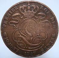 LaZooRo: Belgium 5 Centimes 1847 VG / F - 03. 5 Céntimos