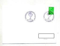 Lettre Cachet Saint Severe Tati - Storia Postale