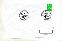 Lettre Cachet Castello De Rostino Paou Pascal - Storia Postale