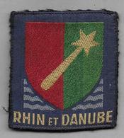 Ecusson  RHIN ET DANUBE - Patches