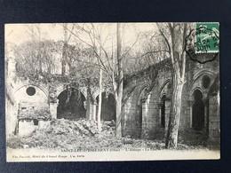 CPA Convoyeur Station Paris à Creil PSO Abbaye Saint-Leu D'Esserent Oise - Postmark Collection (Covers)