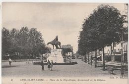 Chalon - Place De La Republique - Chalon Sur Saone