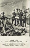 FOCH-PETAIN--CLEMENCEAU-POINCARE-DE CASTELNEAU-JOFFRE-LES LIBERATEURS-GUERRE 1914/1918-illustrateur JOSEPH AUBERT - Guerre 1914-18