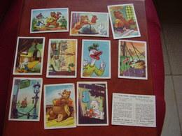 Lot Chromos Images Vignettes *** Tom  Poes *** - Albums & Catalogues