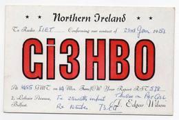 Northern Ireland - BELFAST - CB RADIO - Radioamatore - Radioamateur - QSL - Short Wave - Carte QSL