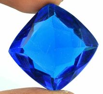 Topaze Bleu Du Brésil. 50 Carats. - Jewels & Clocks