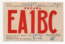 Espana Madrid Oviedo- Erinnofilia  - CB RADIO - Radioamatore - Radioamateur - QSL - Short Wave - Carte QSL
