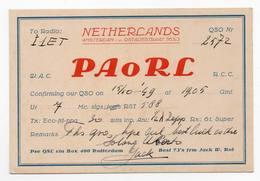 THE NETHERLANDS AMSTERDAM ROTTERDAM Erinnofilia  - CB RADIO - Radioamatore - Radioamateur - QSL - Short Wave - Carte QSL