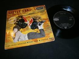 EP 45t / Little EVA Let's Turkey Trot LONDON - Rock
