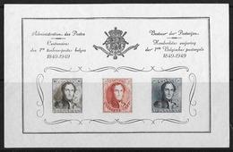 België/Belgique 1949 - Bepitec-herrinneringsvelletje - E53xx - Feuillet-souvenir Bepitec. - Commemorative Labels