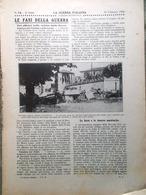 La Guerra Italiana 20 Febbraio 1916 WW1 Bolzano Merano Turriaco Mirto Drava Armi - Guerra 1914-18