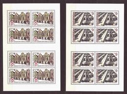 Czech Republic 1994 MNH ** Mi 39-40 Klb Sc 2919-2920 Baroque Gables And Cubist House UNESCO. Tschechische Republik - Czech Republic