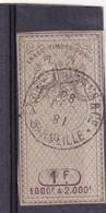 T.F. Effets De Commerce N°305 - Fiscaux