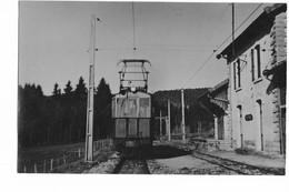 39 - SAPOIS : GARE AVEC TRAIN . - Autres Communes