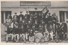 60 - BEAUVAIS -  L'ETENDARD  + 1 CARNET DE 12 VUES DE L'ECOLE PRIMAIRE SUP. PROFESSILONNELLE - - Beauvais