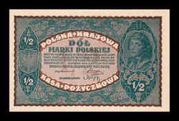 Polonia Poland 1/2 Marki Polskiej 1920 Pick 30 SC UNC - Pologne