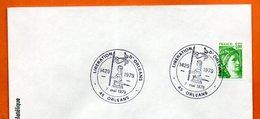 45 ORLEANS  1429 LIBERATION   1979 Lettre Entière N° DE 17 - Commemorative Postmarks