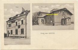 Gruss Aus Ameln ( Bahnhof Und Post ) - Dueren