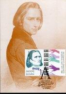51170 Bulgaria, Maximum  2011, Music Composer Franz Liszt - Muziek
