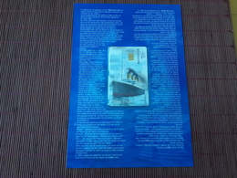 CP-P 66 Titanic  (Mint,Neuve) With Folder Rare ! - Belgique